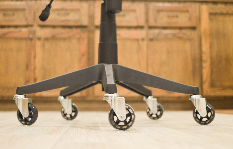 Magnum Solace - Rotelle Stile Rollerblade (5 Pezzi) – Perfetta Scorrevolezza Su Tutti I Pavimenti – Ultra Resistente, Adattamento Universale, Acciaio