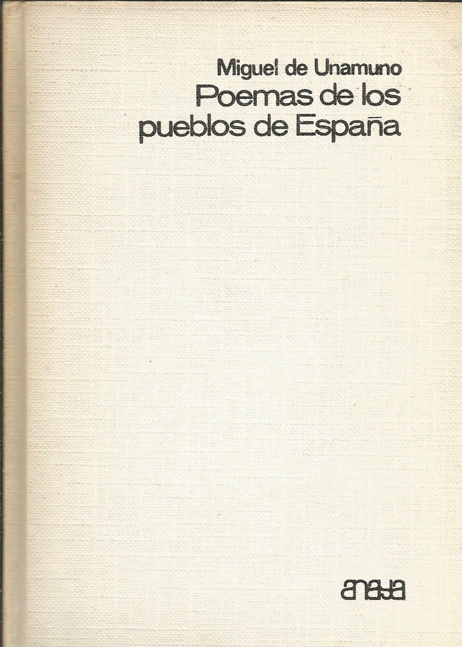 Poemas de los pueblos de España: Amazon.es: Libros