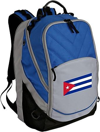 Cuban Flag Backpack Cuba Bag w//Laptop Section