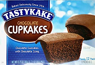 product image for (2) Tastykake Chocolate Cup Cakes Family Packs