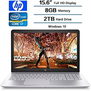 "HP 2018 Pavilion 15.6"" FHD Flagship Backlit Keyboard Gaming Laptop PC, Intel 8th Gen Core i7-8550U Quad-Core, 8GB DDR4, 2TB HDD, NVIDIA GeForce 940MX Graphics with 4GB DDR3, Windows 10"