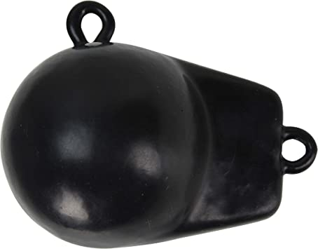 Extreme Max Coated Ball-With-Fin Downrigger Weight 6 lbs