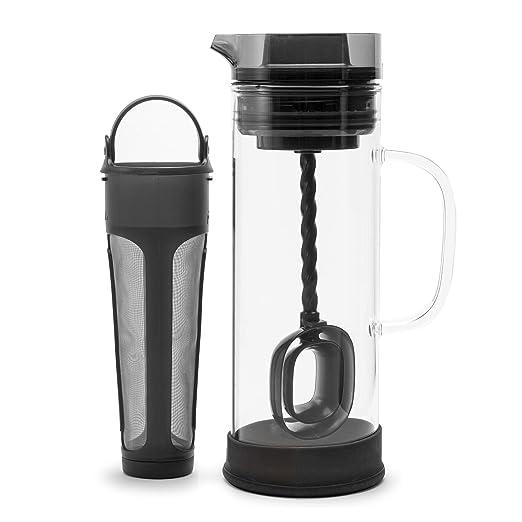 Primula Cold Brew - Cafetera eléctrica de cristal borosilicato ...