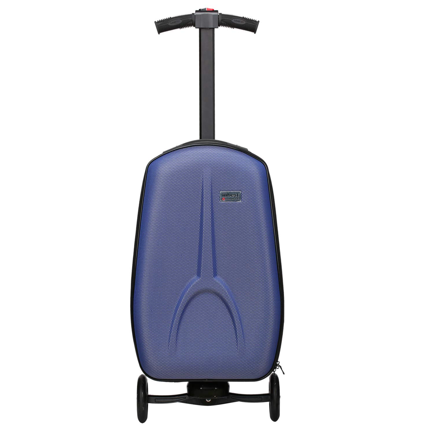 27b53da72 Amazon.com | iubest Scooter Luggage for Adult Carry on Suitcase Foldable Trolley  Case Bags for Travel, Business and School Men 50 liter, 18 inches (Blue) ...