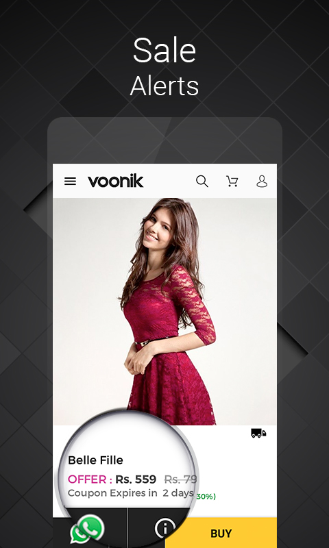 1094a38f53d Amazon.com  Voonik Online Shopping Women  Appstore for Android