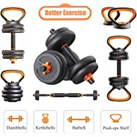 FED Kettlebell Adjustable Dumbbells Barbell Kettle Bell Push Ups Hand Free Wight Dumbells Sets Weights Environmental protection dumbbell