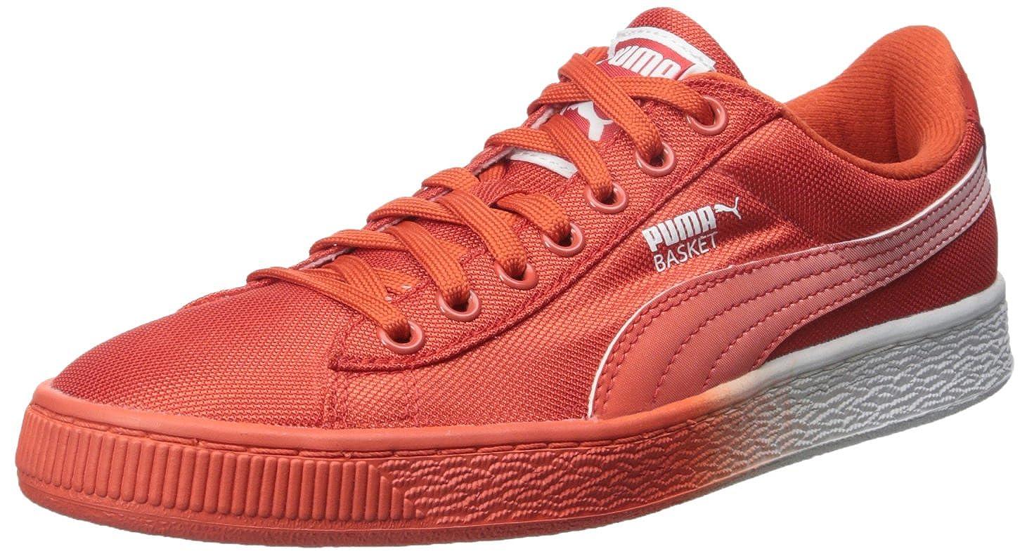 Puma Basket Klassiker unter den Mesh Fade Sneaker Grenadine