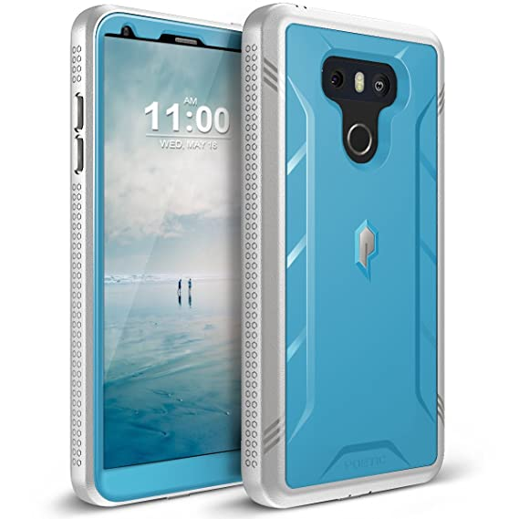 quality design 56957 92daf LG G6 Rugged Case, LG G6 Plus Rugged Case Poetic Revolution [360 Degree  Protection] [Built-in-Screen Protector] Full-Body Rugged Heavy Duty Case  for ...