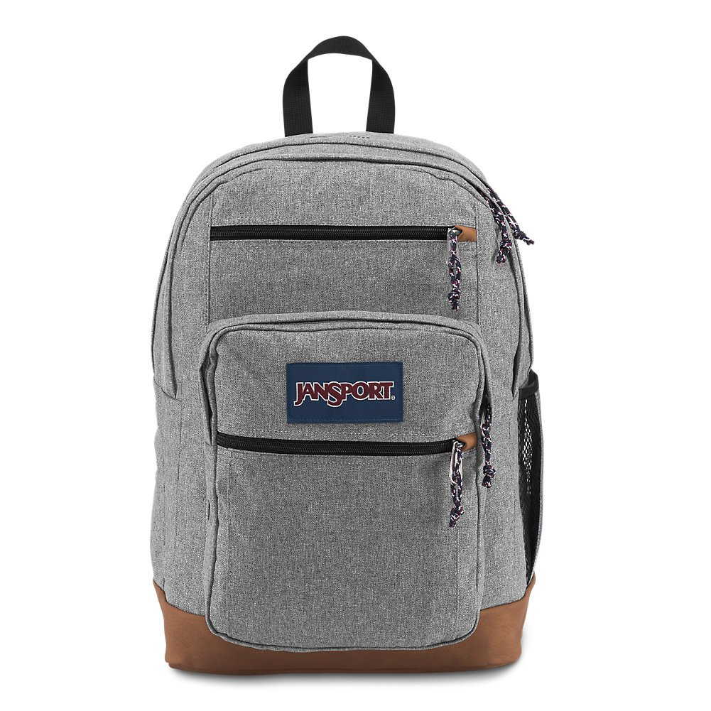 JanSport JS0A2SDD3CL Cool Student Backpack, Grey Letterman Poly by JanSport