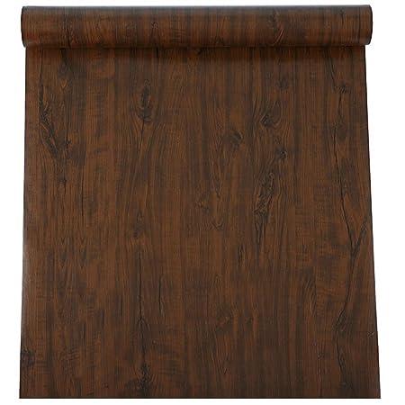 Resistente al agua sintética madera vinilo autoadhesivo ...