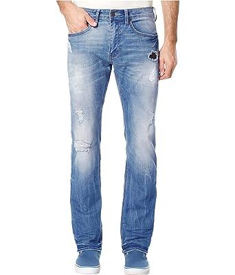 b0889845 Buffalo David Bitton Men's Evan Slim Fit Stretch Denim Fashion Jean in 30  Inseam, Vintage