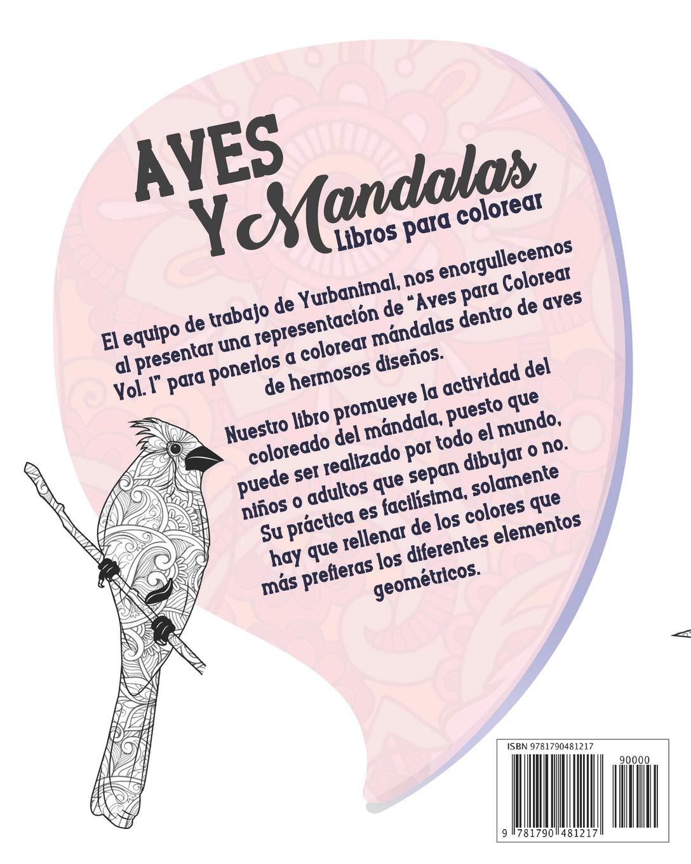 Aves y Mandalas - Libro para Colorear (Spanish Edition): Amanda Allen, Yurbanimal: 9781790481217: Amazon.com: Books