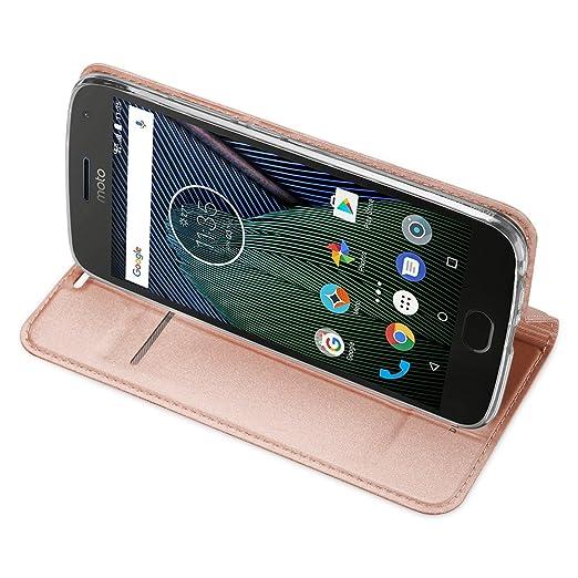 3 opinioni per MOTO G5 Plus Cover- IVSO Slim Flip Cover Custodia per Lenovo MOTO G5 Smartphone