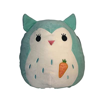 SQUISHMALLOWS Winston Teal Owl 12 Inch: Toys & Games
