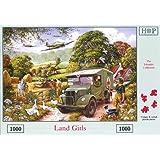 1000 Piece Jigsaw Puzzle. Land Girls - Old War Scene