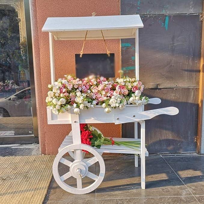 ANXWA Escalera para Flores De Bambú Estantería Decorativa para ...