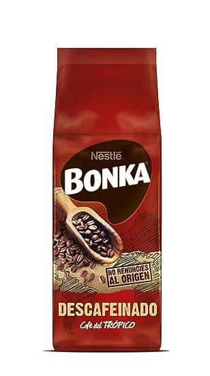 Bonka - Café Tostado Grano Descafeinado - 8 Paquetes de 250 g