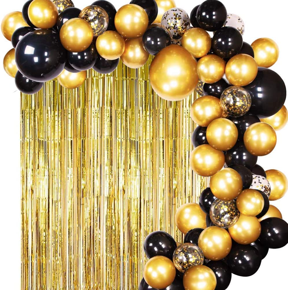 Diy Black And Gold Table Decorations from images-na.ssl-images-amazon.com