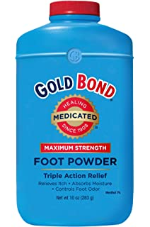 Amazon com: Gold Bond Medicated Foot Powder - 10 Oz: Health