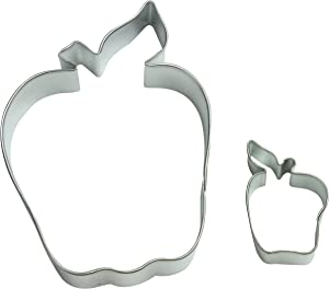 Cybrtrayd Parent/Child Cookie Cutter Set, 4-Inch, Apple
