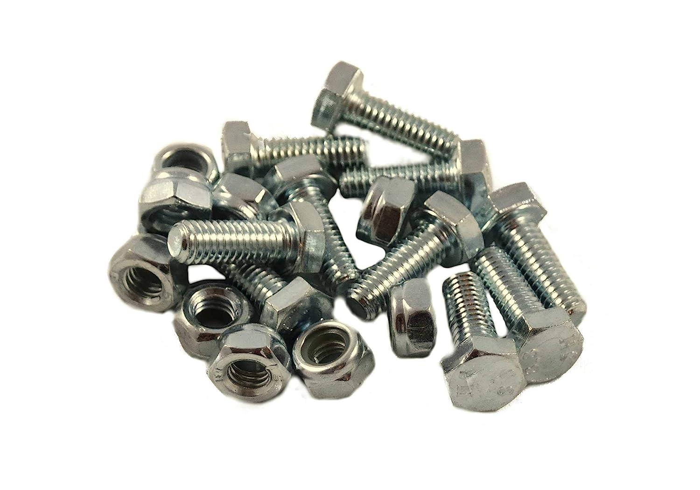 10 Sets - Auger Shear Pins Bolts & Nuts Honda HS1132 HS624 HS828 HS928 HS724 , product_by: partsforless1350 it#9221963857458 Regarmans
