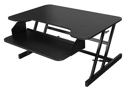 Sit & Soporte para W/bandeja retráctil para teclado - altura ...