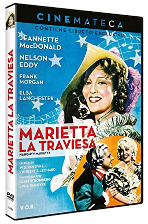 Cinemateca: Marietta La Traviesa Naughty Marietta 1935 V.O.S.