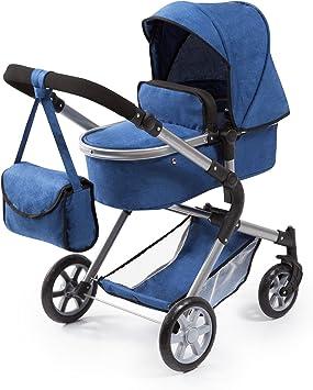 Opinión sobre Bayer Design 18135AA City Neo - Cochecito de muñecas con bolsa y cesta de la compra, color azul