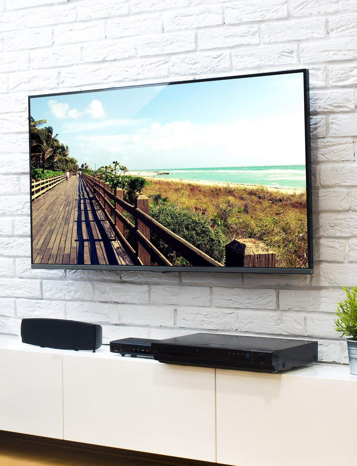 Fortress Mount TV Wall Mount for Most 40-75'' TVs up to 165 lbs and 9-feet HDMI Cable by Fortress Mount (Image #7)