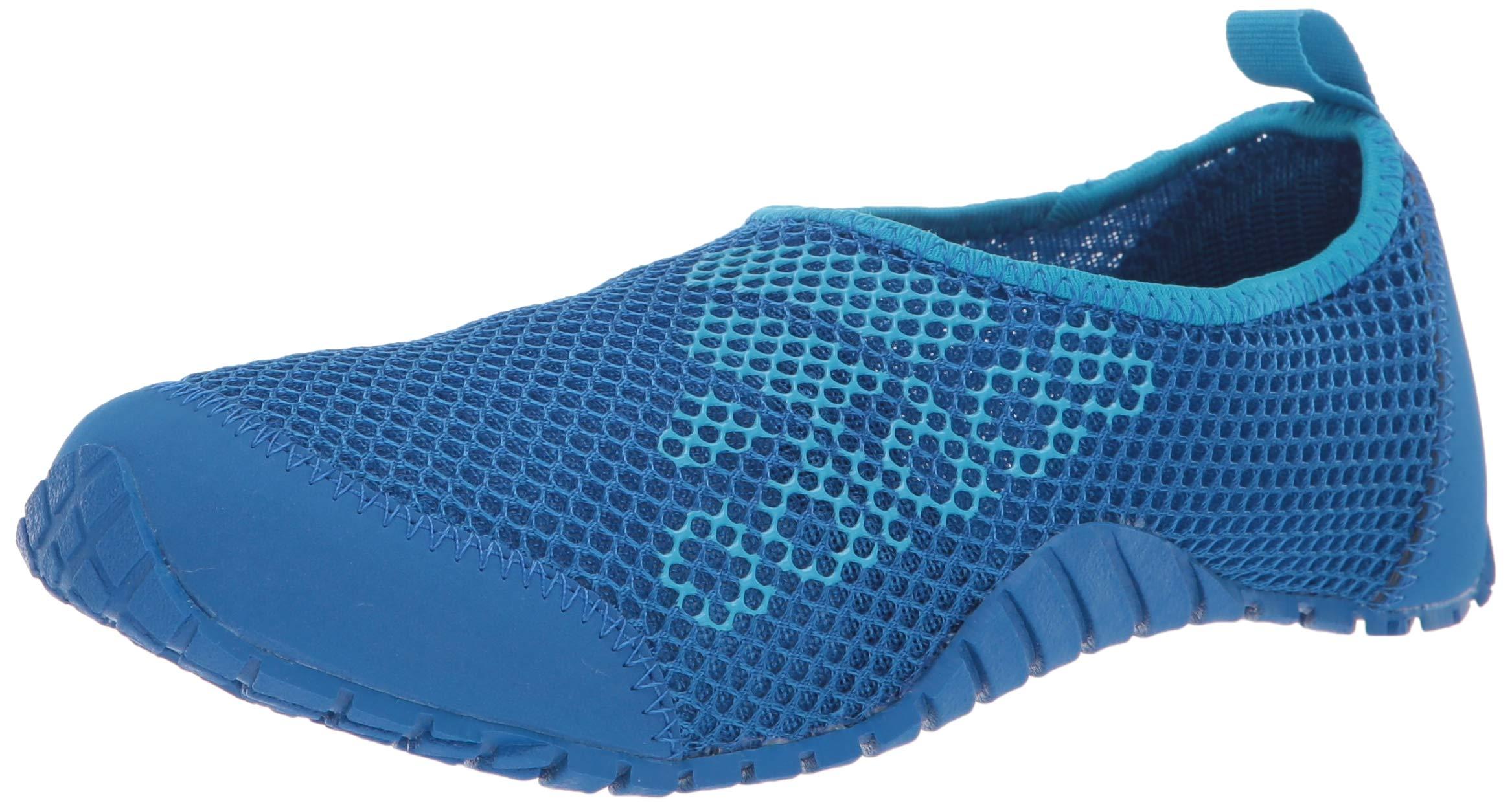 adidas outdoor KUROBE Kids Water Sports Shoe Walking Blue Beauty/Shock Cyan, 4 Child US Big