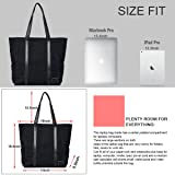 Laptop Tote Bag Women Large Canvas Business Work