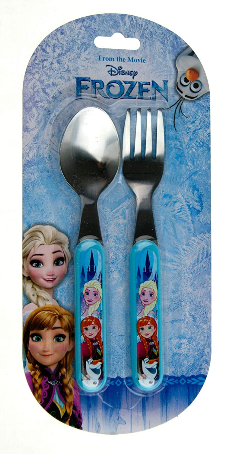 Girls Disney Frozen Metal Cutlery Set