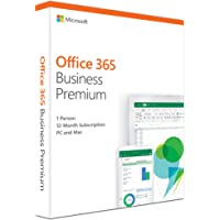 Microsoft Office 365 Business Premium, 1 Year Subscription 5 Users