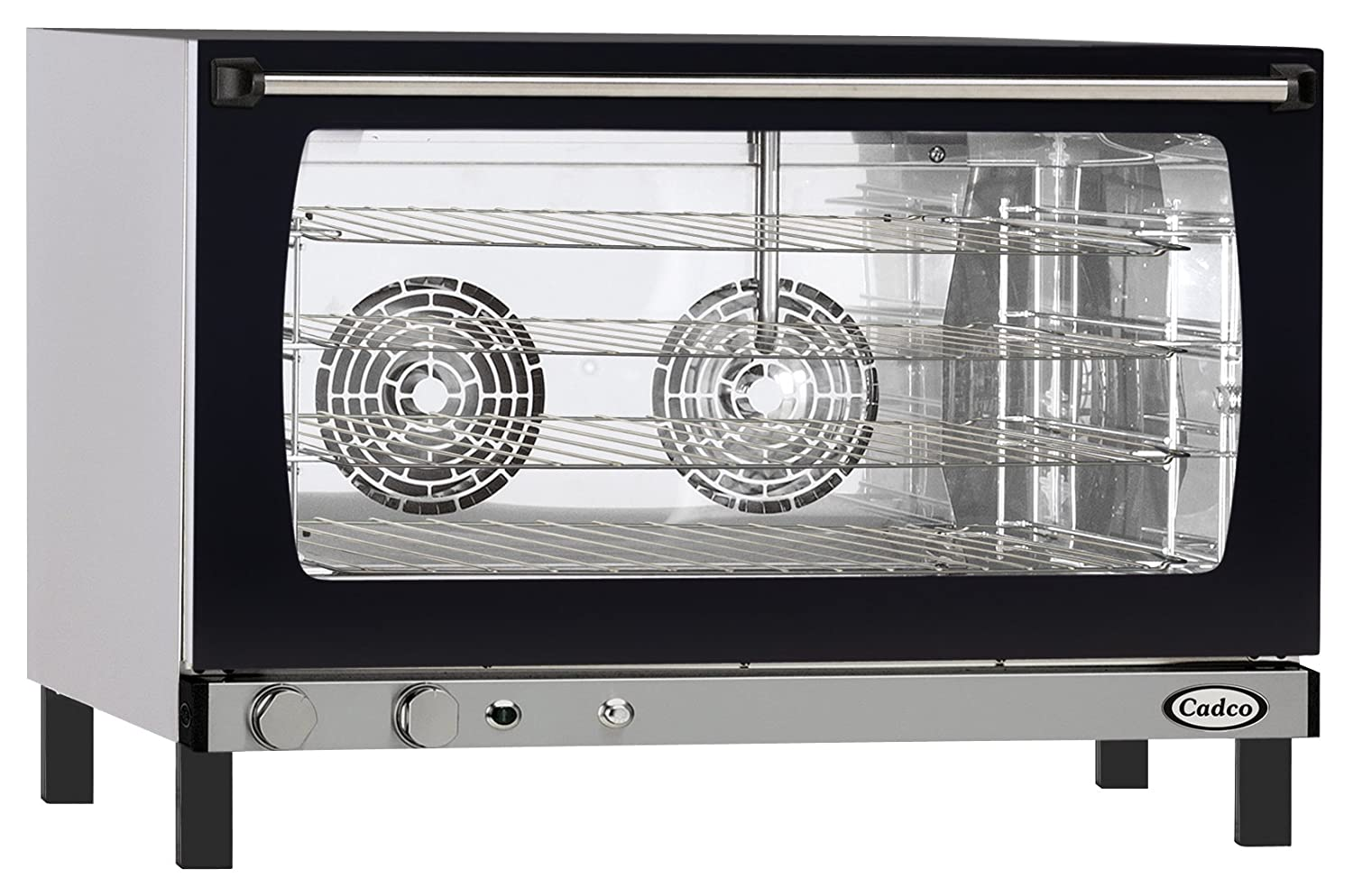 Amazon.com: Cadco XAF-193 Full Size Convection Oven with Manual Controls  and Humidity, 208-240-Volt/5600-Watt, Stainless/Black: Convection  Countertop Ovens: ...