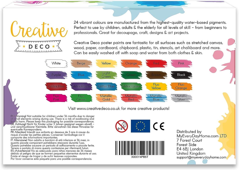 Fun Peinture Kit /& Couleur de votre propre toile peinture coloriage enfants adultes Art Craft UK
