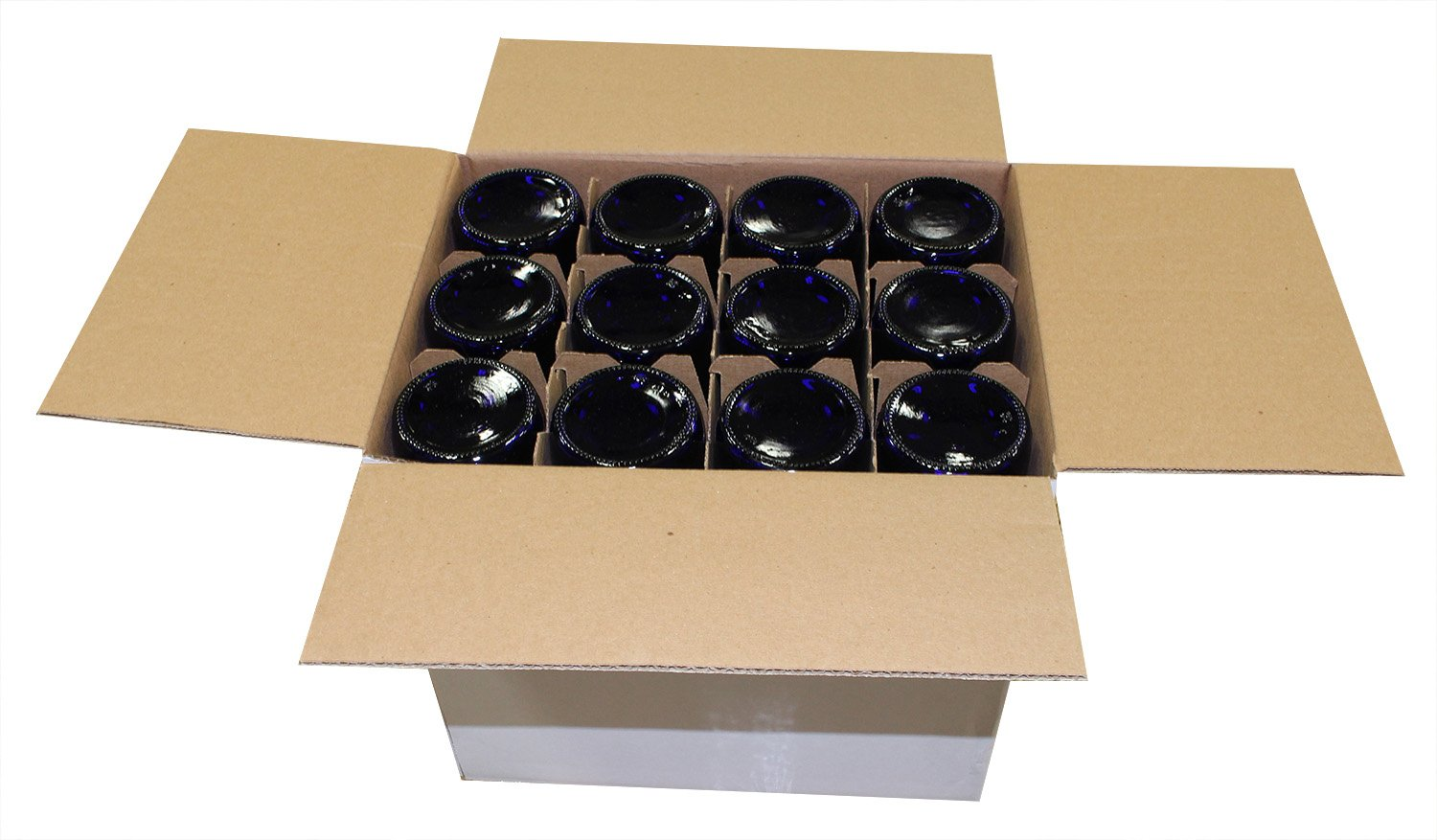 Midwest Homebrewing and Winemaking Supplies 750 ml Cobalt Glass Claret/Bordeaux Bottles (12 per case) by Midwest Homebrewing and Winemaking Supplies