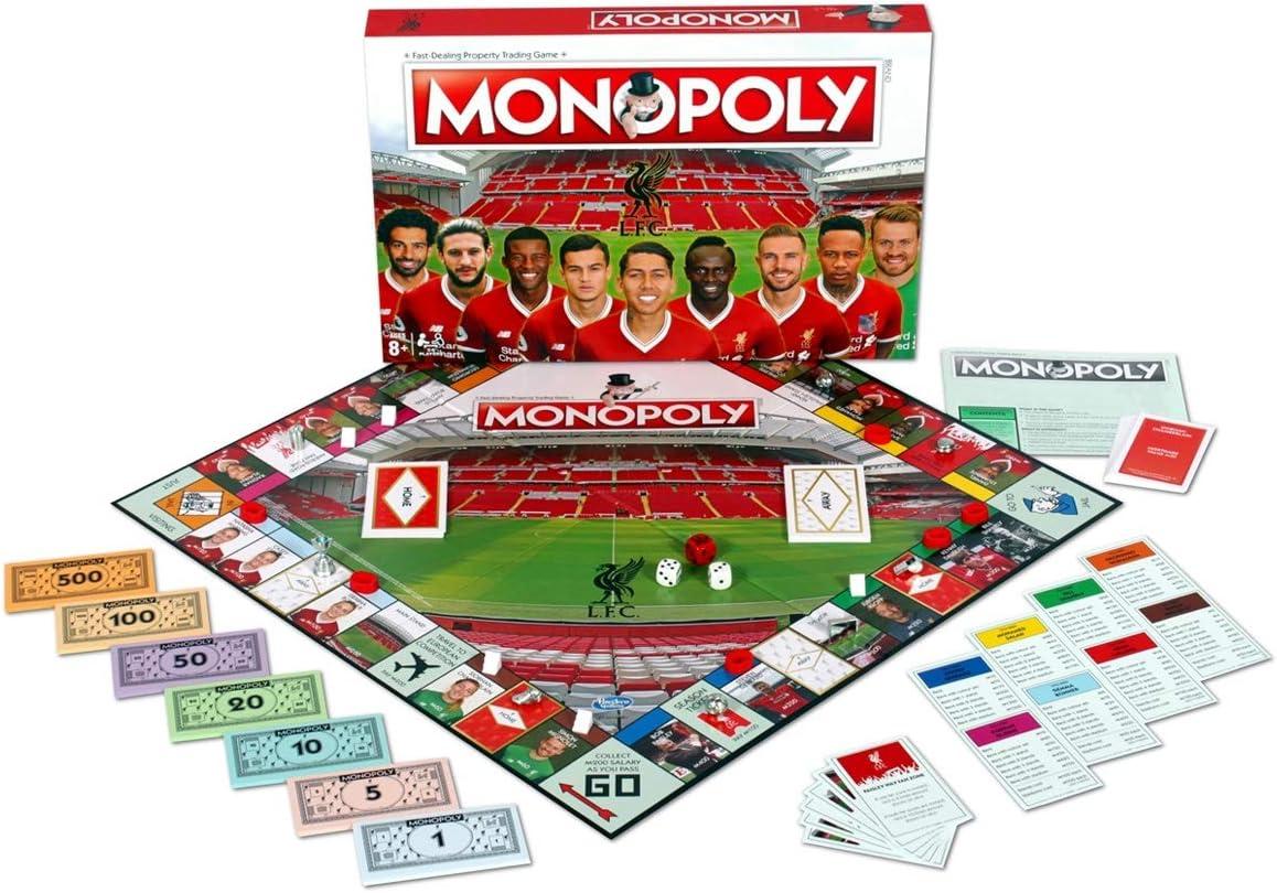 Liverpool FC Monopoly - Juego de Mesa: Amazon.es: Juguetes y juegos