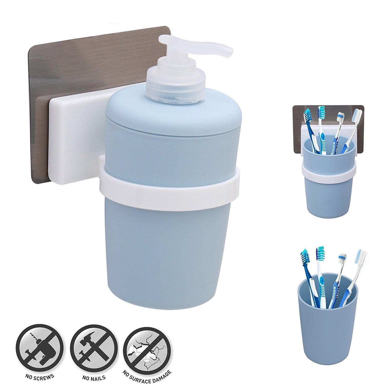 Kurelle Flüssigseifespender Handseife Spender Für Küche, Badezimmer (Blau Seifenspender) Others