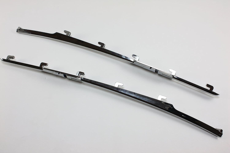 Chrome Z10 6 M6 E63 E64 SIDE FENDER VENT GRILL GRILLE Side Fender Moulding