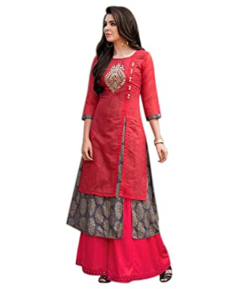 BEST Designer party wear rayon kurtis for womens - LATEST bollywood ...