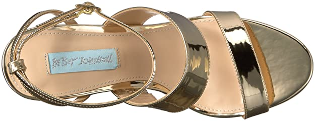 Betsey Johnson Blau by Damens's Sb Sb Damens's Jenna Dress Sandale     6a11f5