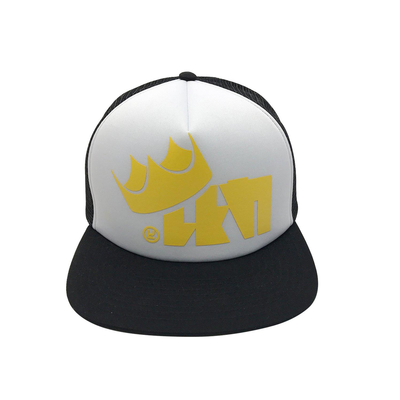 Unisex King Flip Mesh Trucker Caps Baseball Hat Flat Brim Hats For Splatfest one
