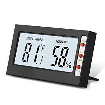Digital Home Thermometer Humidity Meter, Indoor Temperature Gauge Hygrometer  For Home House Room Car