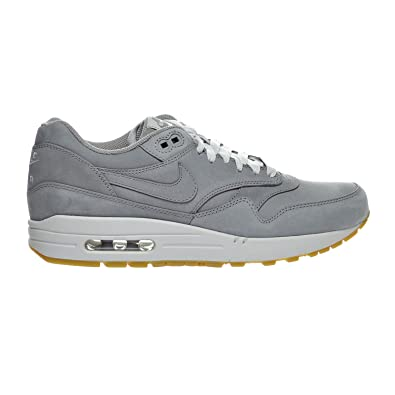 hot sales b6033 c9895 Nike Air Max 1 LTR Premium Men s Shoe Medium Grey Neutral Grey 705282-005