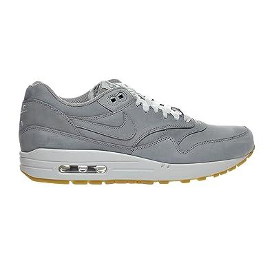 hot sales 38fe1 c8bfc Nike Air Max 1 LTR Premium Men s Shoe Medium Grey Neutral Grey 705282-005