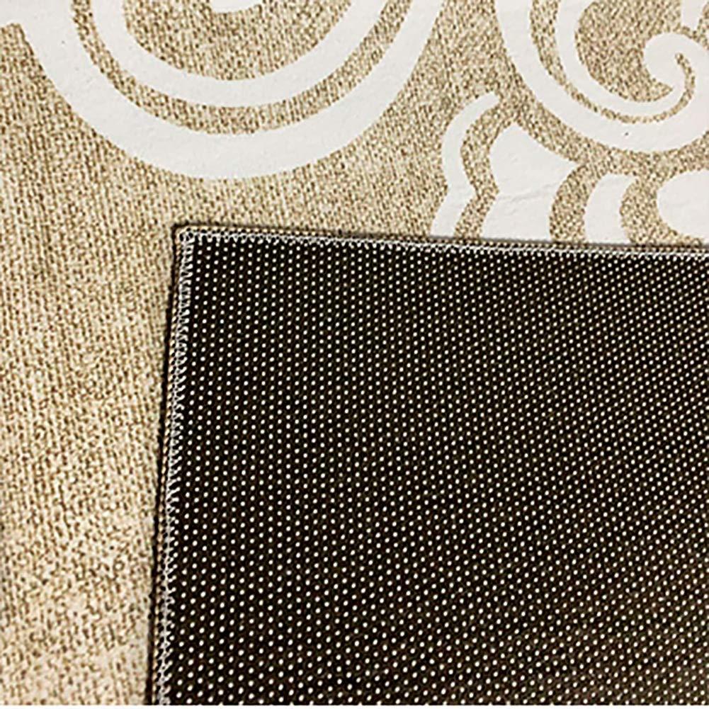 Color : A, Size : 0.6x2m GuoWei Tapis Moderne G/éom/étrique pour Longue Porte Dentr/ée Couloir Le Salon Antid/érapant Impression Thermique Poil Ras Plusieurs Tailles Personnalisable