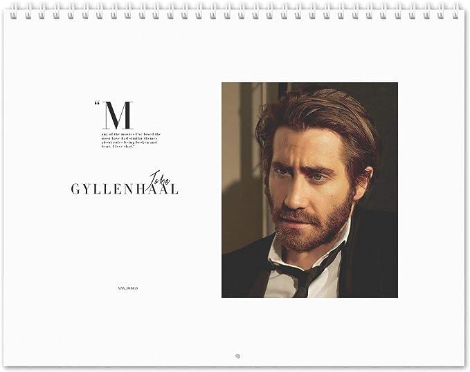 Jake Gyllenhaal The Well 2020 Calendario de pared