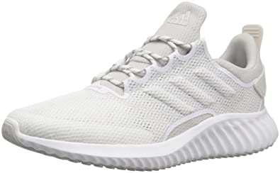 the best attitude 1e85f f18dc adidas Mens Alphabounce CR CC Running Shoe, WhiteGreyChalk Pearl, 6.5