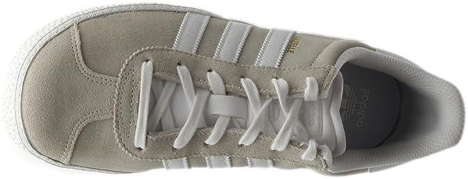 best service 163d2 1c976 Amazon.com  adidas Gazelle 2 Big Kids Style BA9318-Off Wht Size 4.5   Sneakers