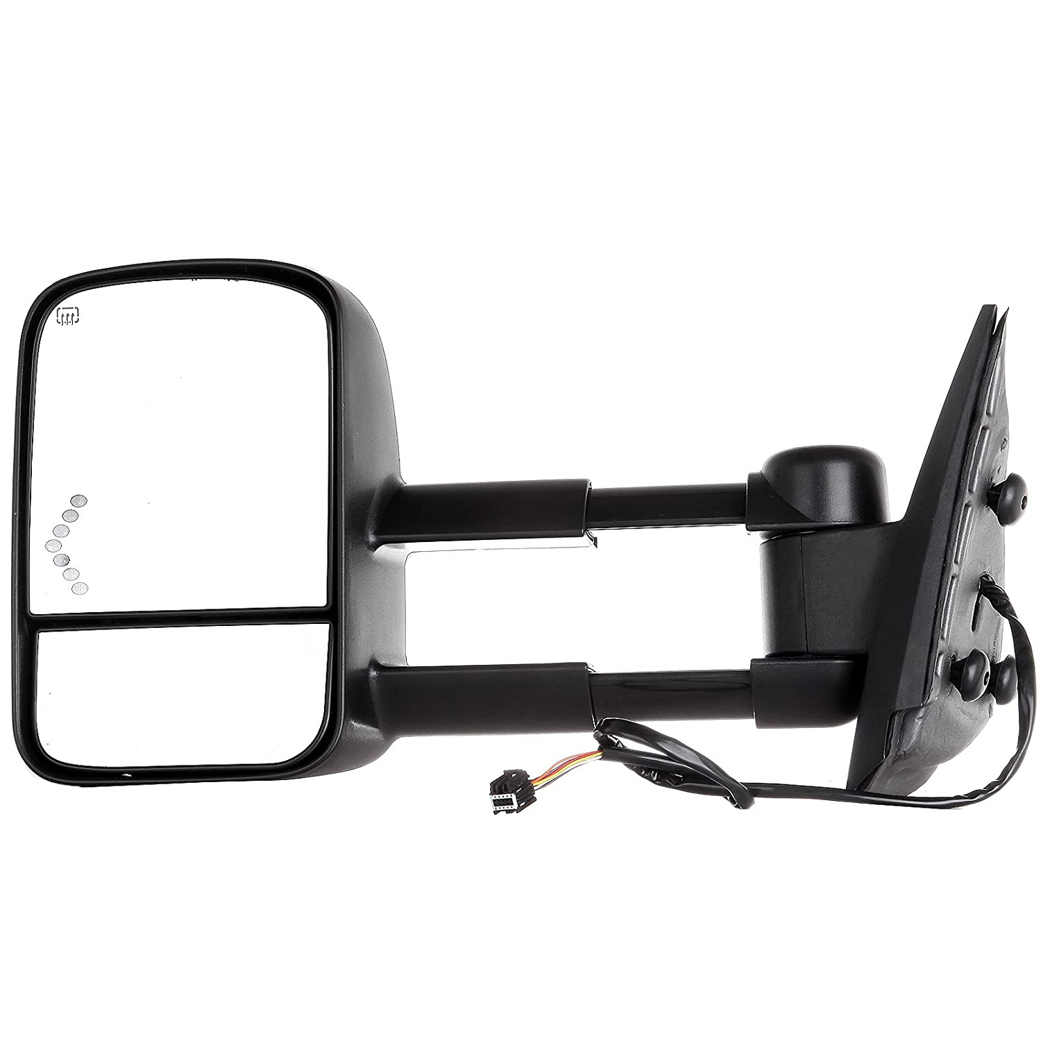 Eccpp Towing Mirrors Replacement Fit For 2008 2013 Chevy Avalanche